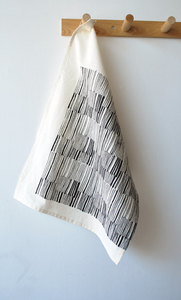 Image of lines tea towel