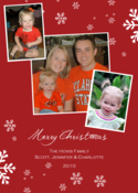 Image of Royal Snowflake Holiday Card