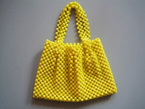 Image of SAC EN PERLES ANNES 60 REF.302