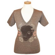 Image of Bison V-neck
