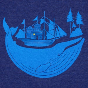 Image of Blue Whale T-shirt