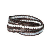 Image of Brown Wrap Bracelet