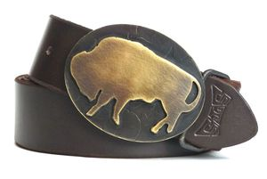 Image of Brass Bison Buckle