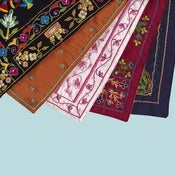 Image of Hand Embroidered Lulu Wraps (Set of Five)