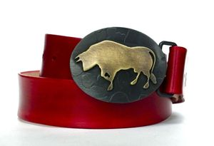 Image of Brass Toro Buckle