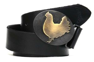 Image of Brass Chicken Buckle