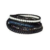 Image of Navy Wrap Bracelet