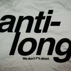 Image of Anti-Long 'We Don't F**k About' T-Shirt