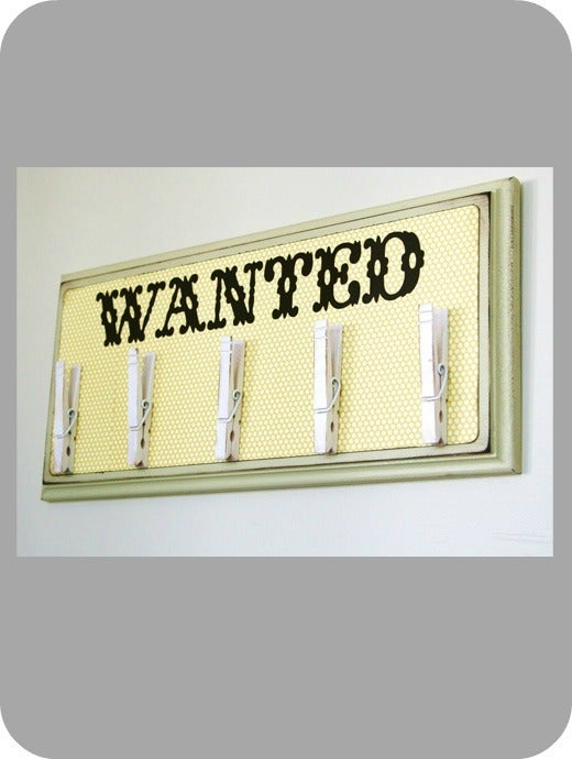 Image of WANTED - items board