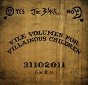 Image of Joe Black - 'Vile Volumes for Villainous Children' CD - Cabaret, Vaudeville, Halloween, Comedy