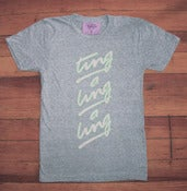 Image of Ting A Ling Tee - Heather Grey (H)