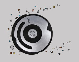 Image of A Roomba