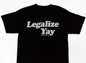 Image of Legalize Yay - Black