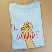 Image of El Grande Fist youth tee - Blue