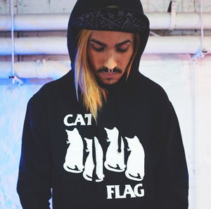 Image of CAT FLAG HOODIE