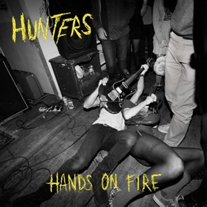 "Image of Hunters ""Hands on Fire"" Clear Vinyl w download card"