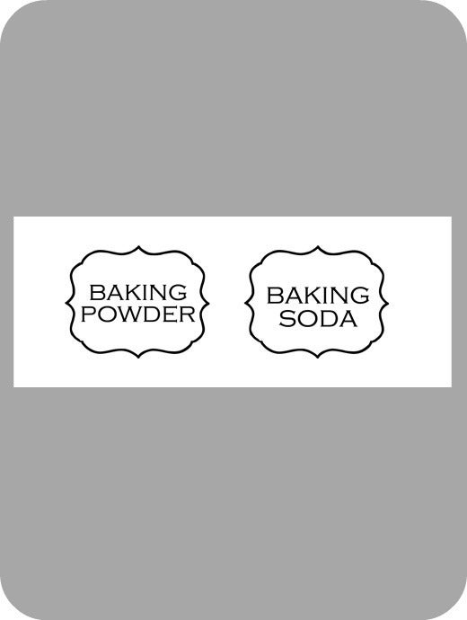 Image of Jar Labels Baking...