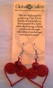 Image of String Heart Earrings