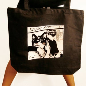 Image of SONIC KITTTY TOTE