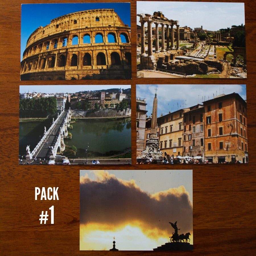 Image of Rome Postcard Packs