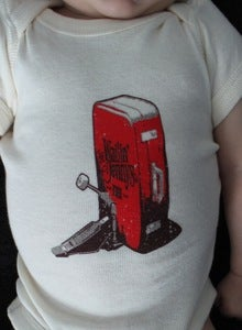 Image of Baby/Toddler Onesie with The Wailin' Jennys Suitcase Logo