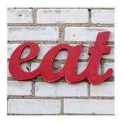 Image of Eat sign