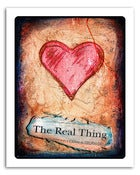 Image of 8x10&quot; Paper Print - Hearts &amp; Headlines - The Real Thing