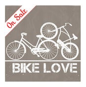 Image of Bike Love 11x14