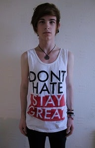 Image of Don't Hate, Stay Great (Tank Top)