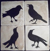 Image of Craft Product - Crow Coasters