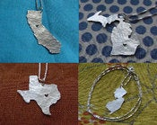 Image of Custom State/Country Necklace