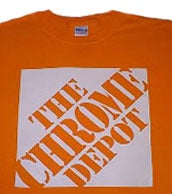 Image of Chrome Depot T-Shirt - Orange