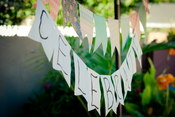 Image of Colorful Paper Bunting