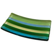 Image of Spring Stripe Soap Dish