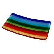 Image of Rainbow Stripe Soap Dish
