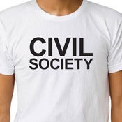 Image of CIVIL SOCIETY T-shirt