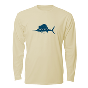 Image of Distressed Sailfish AVIDry L/S - Tan