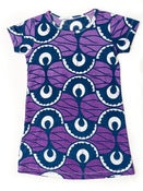 Image of TIli Bwino TWENDE  print girls T-shirt dress