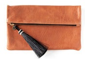 Image of Arizona leather clutch