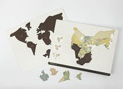 Image of 11/023: Geografia Pangaea Puzzle Board