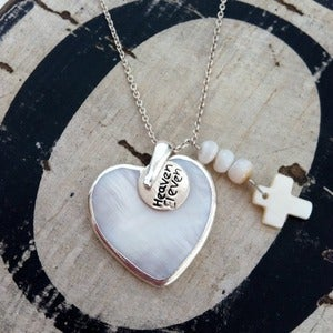 Image of Boho Heart Pendant