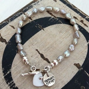 Image of Boho Fresh Water Pearl Bracelet
