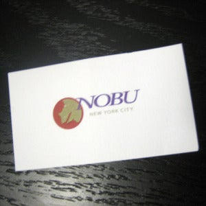Image of Dinner At Nobu