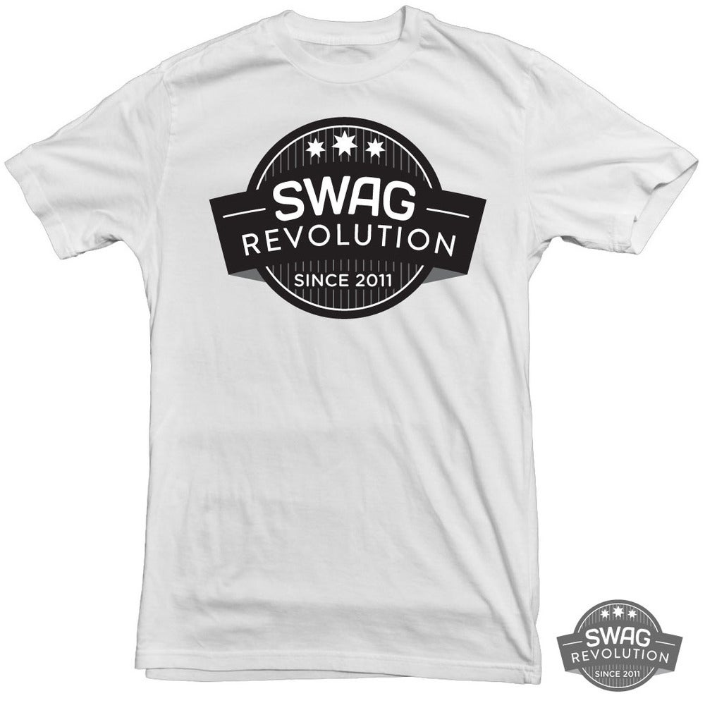 Got Swag Logo http://swagrevolutionclothing.bigcartel.com/product/swag-logo-t-shirt-white
