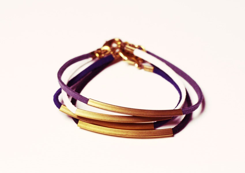 Image of Catena Leather Bracelet