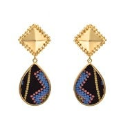 Image of Alex Earrings - Tribal