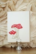 Image of Mushroom Blank Card