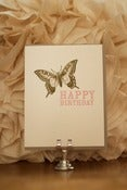 Image of Happy Birthday Butterfly