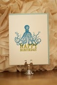 Image of Birthday Octopus