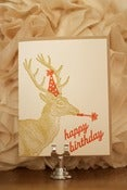 Image of Happy Birthday Deer